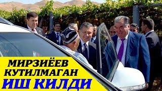 Койил Бугун Мирзиёев Кутилмаган Иш килди