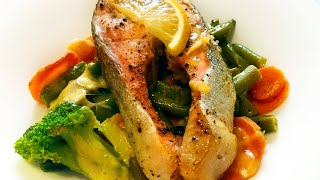 Форель в духовке с овощами и сыром Идеальный рецепт для романтического ужина