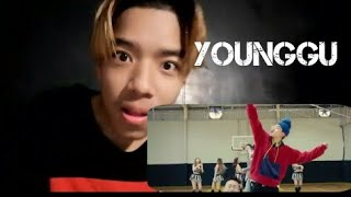 REACTION  YOUNGGU - HIPHOP FT. TIMETHAI, CD GUNTEE, & DIAMOND