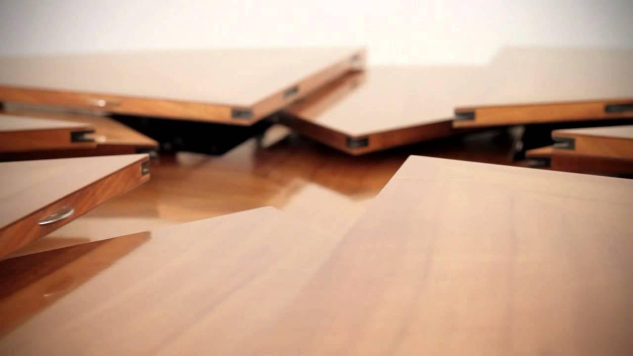 раздвижной круглый стол мебель трансформеррф Youtube