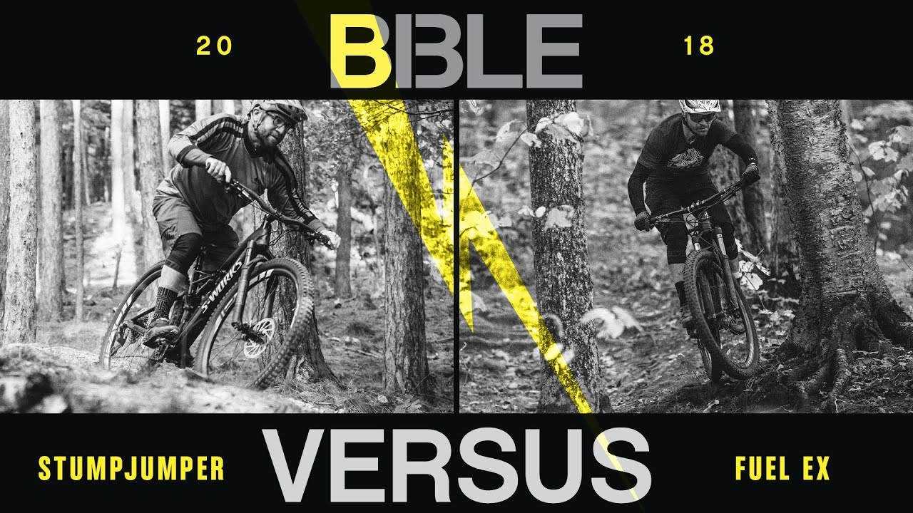 2436eb22647 Trek Fuel EX 9.9 VS. Specialized S-Works Stumpjumper - 2018 Bible of Bike  Tests