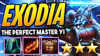 EXODIA MASTER YI w/ PERFECT ITEMS ⭐⭐⭐ How to play BLADE BROS! | TFT 10.8 Guide | Teamfight Tactics