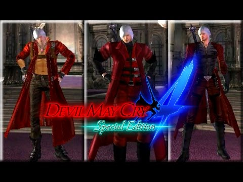 Devil May Cry 4 Special Edition Pc Classic Dante Costumes Mods Gameplay