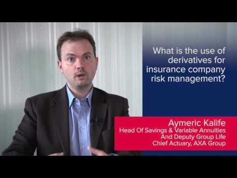 Aymeric Kalife: What is the use of derivatives for insurance