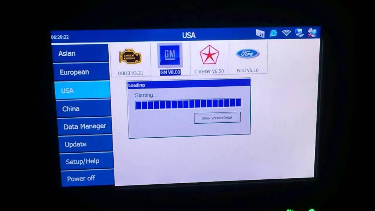 Maxidas Autel كمبيوتر فحص السيارات جهاز الماكسي داس من مركز الوسام الهندسي العراق Youtube
