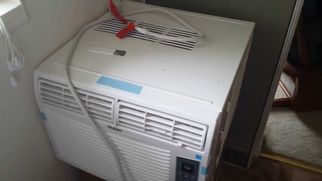 How I Installed A Standard Window Air Conditioner Into A