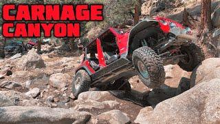 CARNAGE CANYON COLORADO TRAIL- Hemi 392 Jeep Wrangler JLU Rubicon!