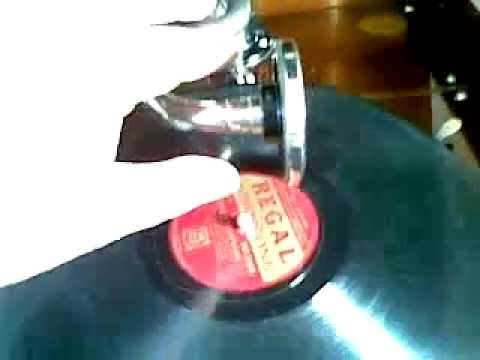George Formby - When I'm Cleaning Windows - 78 RPM - HMV 109