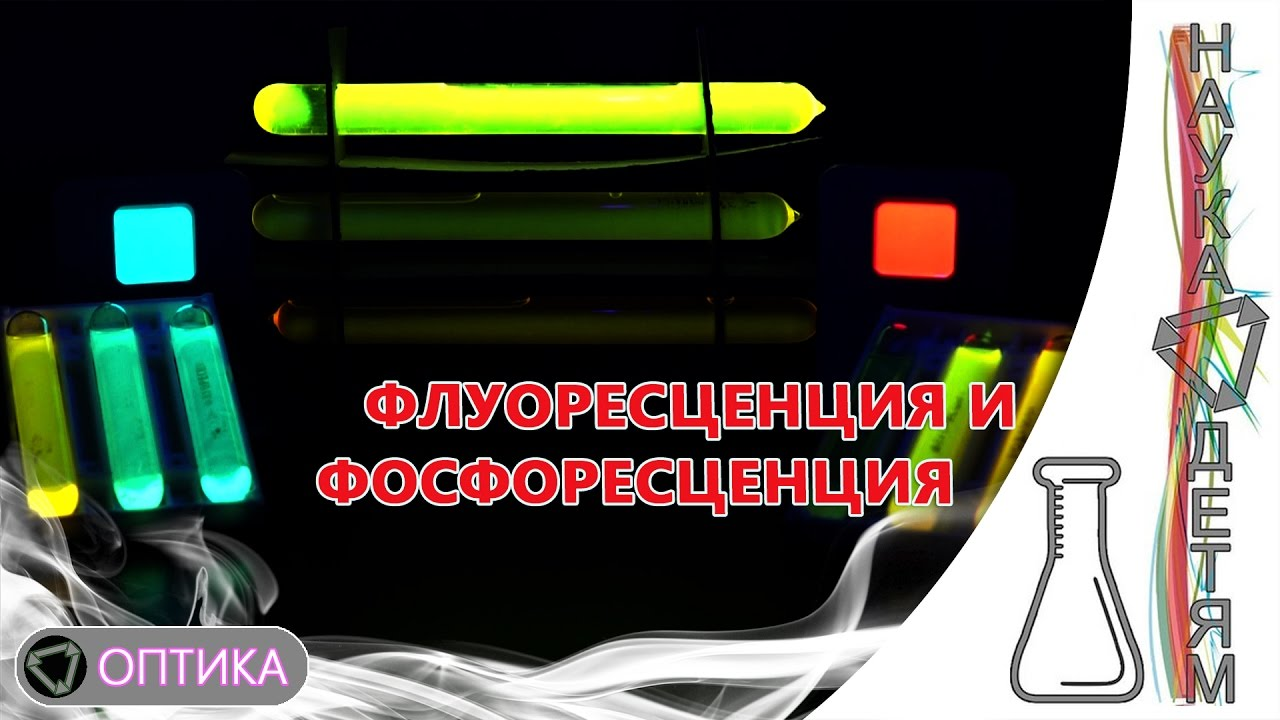 Флуоресценция и фосфоресценция/The fluorescence and phosphorescence