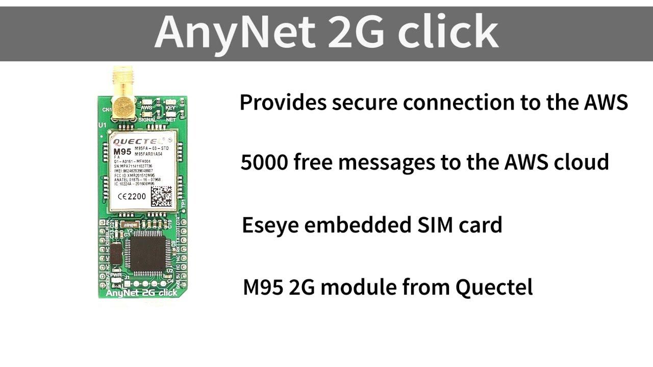 AnyNet 2G click at MG Super Labs India