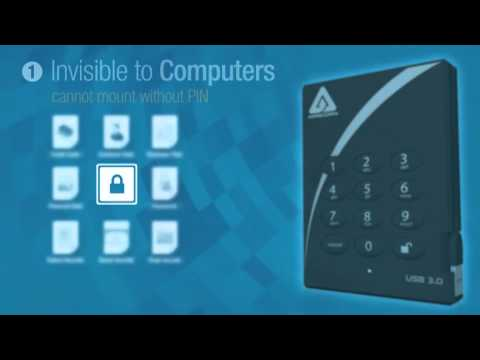 Apricorn Aegis Padlock Encrypted Hard Drive from YouTube · Duration:  3 minutes 21 seconds