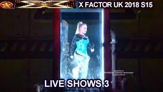 "Molly Scott ""Toxic"" Simon FUNNY SNEEZE  The Girls | Live Show 3 X Factor UK 2018"