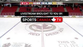 2019 CWG - Men's Hockey - Game 23 - NB vs NL