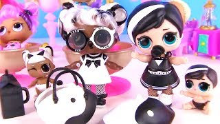 Куклы Лол Сюрприз! Камера преобразования мультик Lol Surprise families Капсулы Hairgoals Makeover