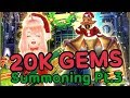 [Dragon Project] 20K GEMS Christmas Summoning Part 3!