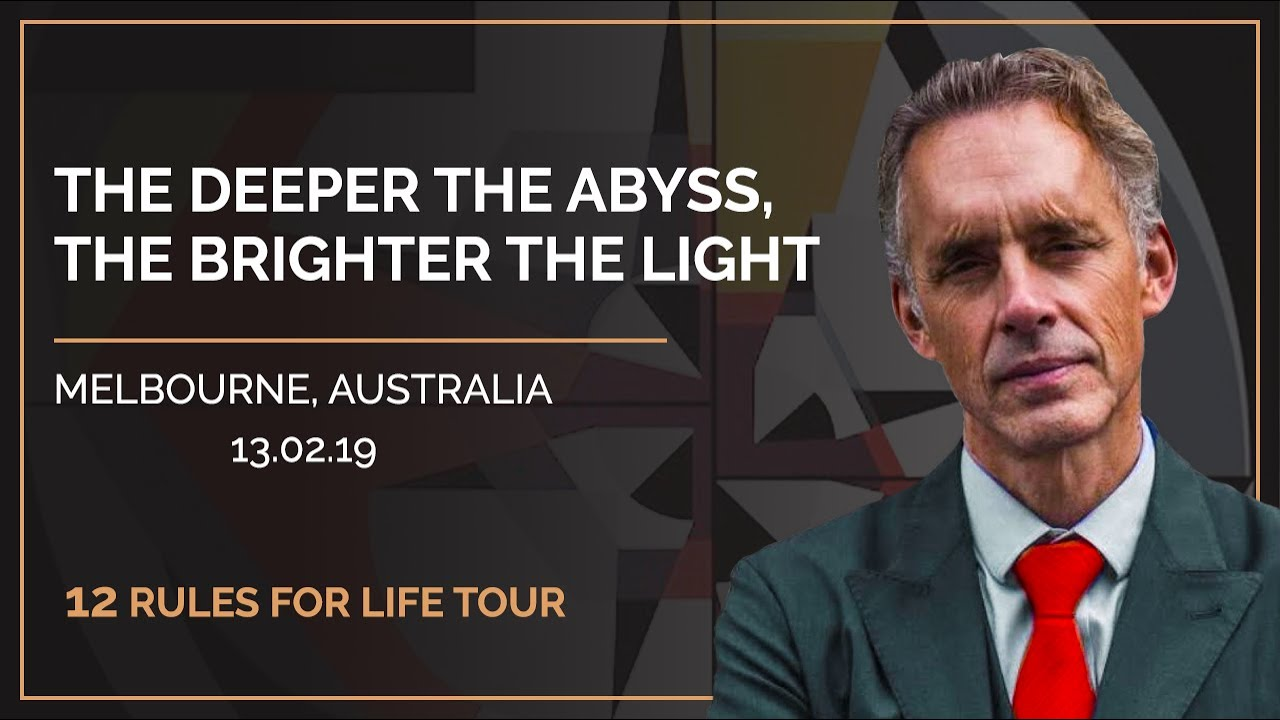 12 Rules for Life Tour - Melbourne, Australia.