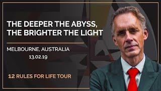12 Rules for Life Tour  Melbourne, Australia.