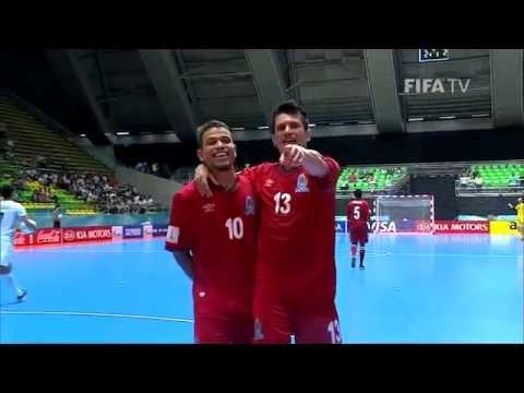 Match 35: Azerbaijan v Iran - FIFA Futsal World Cup 2016
