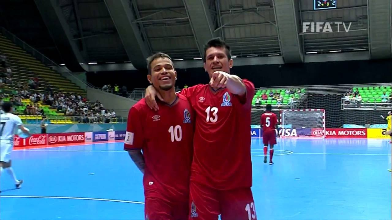 Video: Futsal Azerbaijan vs Futsal Iran