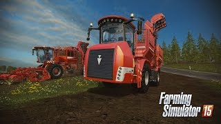 Farming Simulator 15 HOLMER DLC - TERRA VARIANT 600 ECO Equipment Options