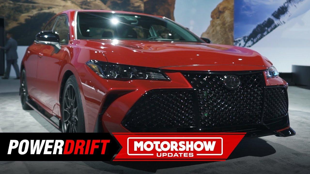 2020 Toyota Camry Avalon Trd Luxury Gets Sportier 2018 La Auto