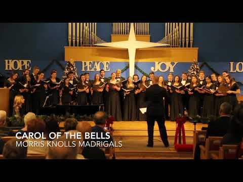 CAROL OF THE BELLS [Arr. Kirby Shaw] - MK Madrigals (The White House Rehearsal)