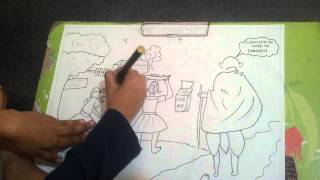 drawing for clean india topic