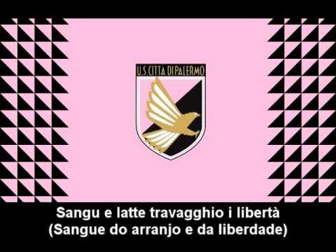 Inno Unione Sportiva Cittá di Palermo (Testo) - Hino do USC Palermo (letra)