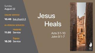 Jesus Saves IEC Sunday Service 22/08/2021