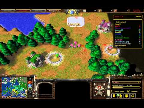 Warcraft 3 RoC - Risk Revolution 1.02 [Victory] (Pink Player)