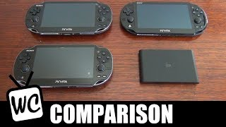 Playstation Vita Comparison - Which Model Should You Buy? (1000 vs. 3G vs. 2000 vs. TV)