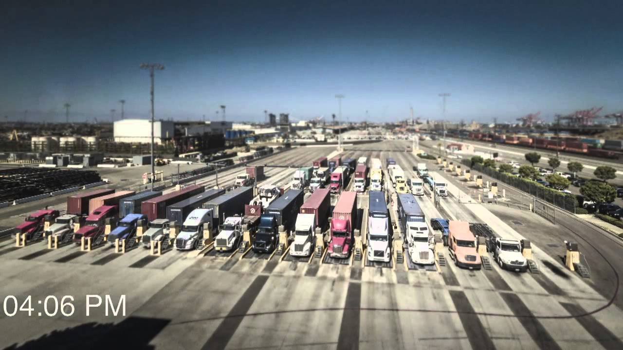 A Day In The Life Of Terminal Gates At Ports Los Angeles And Long Beach