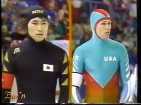 Winter Olympic Games Calgary 1988 - 500 m Jansen - Y. Kuroiwa