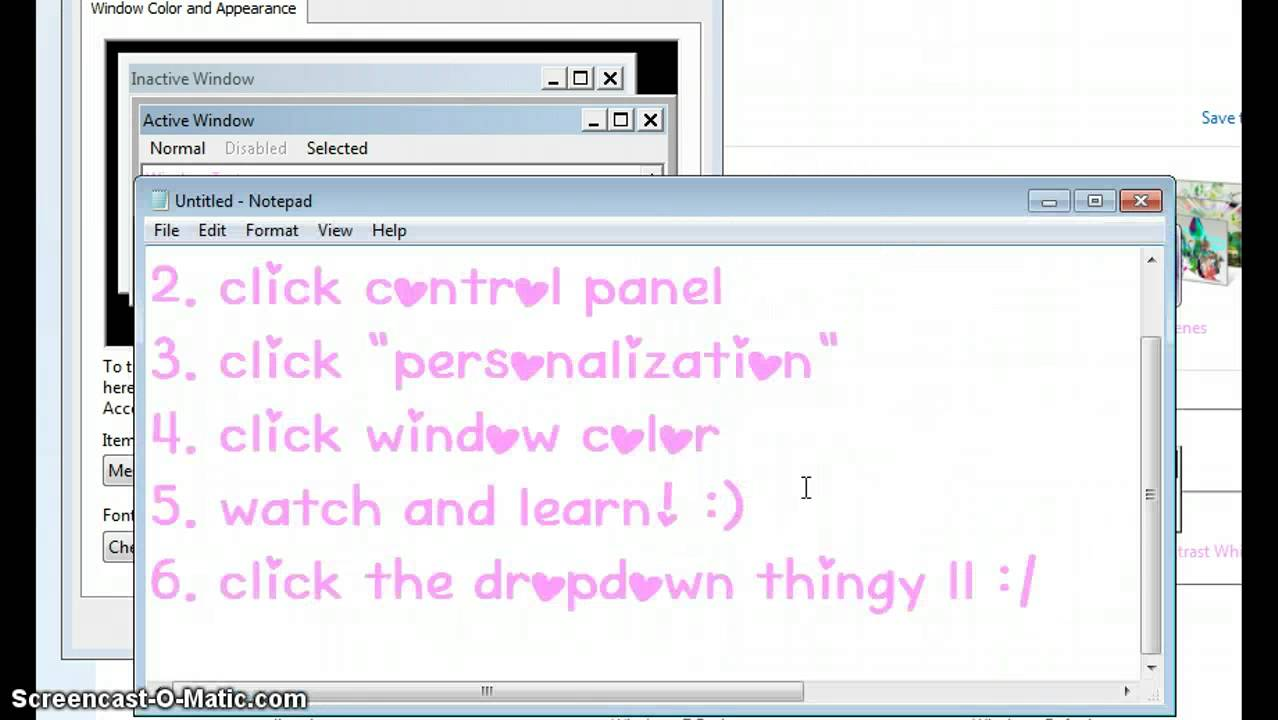 How To Change Your Font Color On Notepad