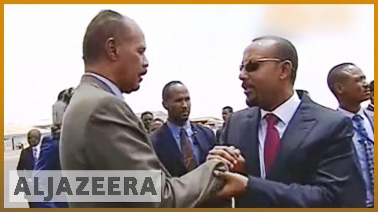 ?? ?? Ethiopia-Eritrea peace: Leaders sign end to 'state of war' | Al Jazeera English