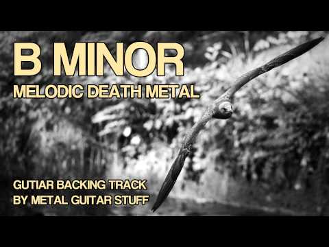 B Minor Melodic Death Metal / Melodeath Guitar Backing Track