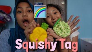 RAINBOW SQUISHY TAG