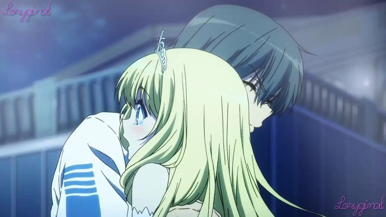 Romantic anime lovely hugs youtube - Anime hug pics ...