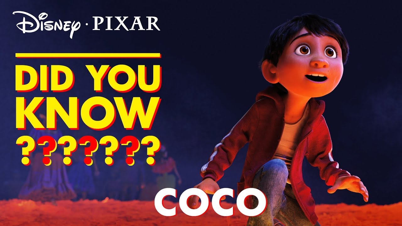 Pixar's Animated Movie Coco Animation Progress