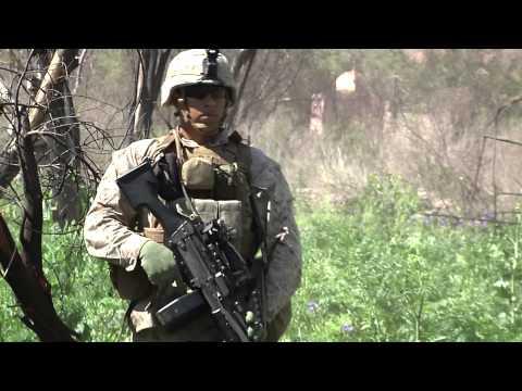 Marines Learn Basic Combat Skills