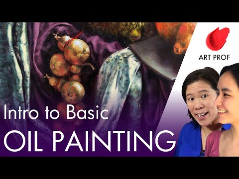 Intro to Basic Oil Painting Techniques, Part 1 of 2