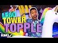 LEGO Tower Topple Challenge - REBRICKULOUS