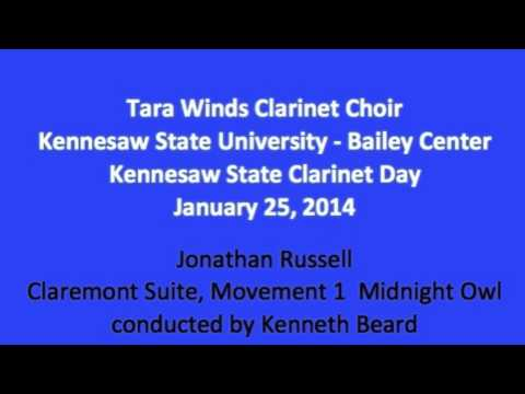Claremont Suite  Movement 1   Midnight Owl, by Jonathan Russell