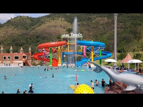 The resort water park ตะลุยสวนน้ำ!@#?