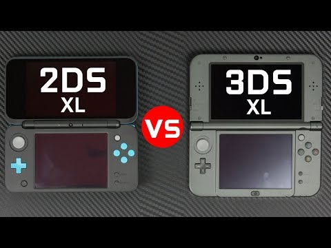 Nintendo 2DS XL vs 3DS XL