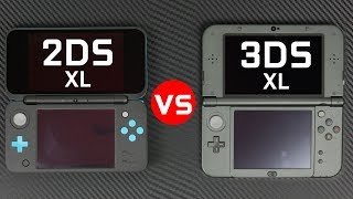Here is our comparison between the Nintendo 2DS XL vs the New 3DS X...
