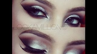 The 2014 Beauty guide Series | Burnt orange & silver makeup tutorial