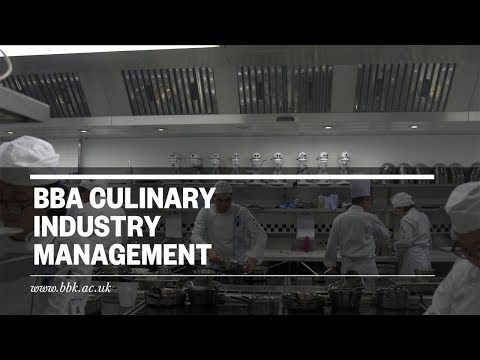 BBA Culinary Industry Management- Birkbeck and Le Cordon Bleu