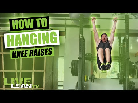 How To Do HANGING KNEE RAISES | Exercise Demonstration Video and Guide