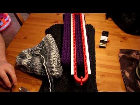 Schal mit Strickrahmen stricken Teil 12/13: Die richtige Wolle wählen